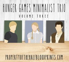 HUNGER GAMES Minimalist Trio: Volume 3