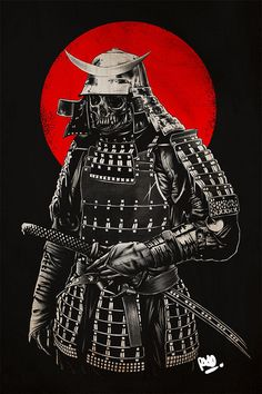 Samurai, I would fix the teeth it would look way better.