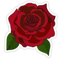 """""""rose"""" Stickers by Maddylaw4   Redbubble"""