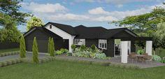 Duet 4 bedroom house design Landmark Homes builders NZ