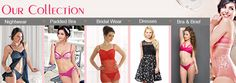 Buy bra, panties,boxer shorts,  nightwear and dress online in India at discount price from leading brands. Free delivery | COD service