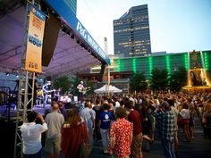 New concerts planned after Fountain Square melee. Photo: The MidPoint Indie Summer concert series at Fountain Square. Enquirer file photo