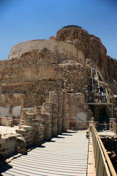 Masada's Triple Northern Palace