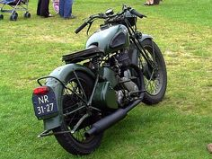 1944 BSA Army Motorcycle