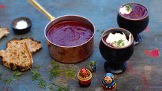 Borsjtsj - russisk rødbetsuppe