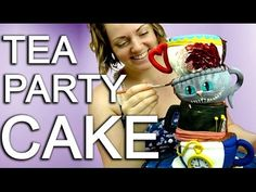 How To Make A Topsy Turvy Tiered Teacup Cake For An Alice In Wonderland ...