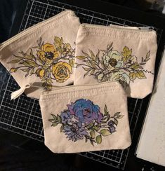 """Victoria Mays on Instagram: """"Even though Fall and Halloween are just around the corner, I found these coin purses in my stash and I just had to decorate them with…"""" Stampers Anonymous, Coin Purses, Around The Corner, Tim Holtz, Coins, Victoria, Halloween, Fall, Instagram"""