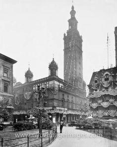 Original Madison Square Garden (vintage), NYC.