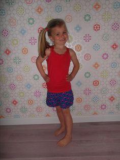 Pippa pants, naaien kinderen, short