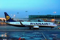 Ryanair B737 at London Stansted International Airport
