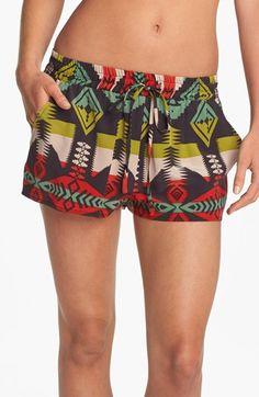 La Fee Verte Silk Shorts   Nordstrom