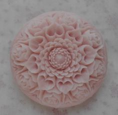 carving-club-rose ソープカービングSoap carving work#craft#石鹸彫刻#Soap flower