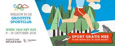 Jouw klas als bosfiliaal: Doe mee met de Olympische Herfstspelen - Week van het bos