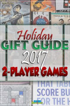 We know sometimes it is hard to get the whole family together for game night. Here's 10 suggestions in our 2017 Holiday Gift Guide - Games for 2 Players! - SahmReviews.com