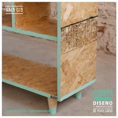 Today& design # designing with OSB plywood Osb Plywood, Plywood Furniture, Diy Furniture, Furniture Design, Plywood Cabinets, Furniture Online, Osb Board, Plywood Projects, Furniture Inspiration