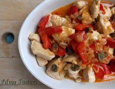 Turkey and peppers - bocconcini di tacchino ai peperoni