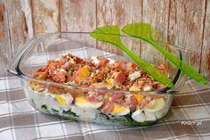Sprawdź to, zjedz to! Feta, Salads, Tacos, Mexican, Chicken, Ethnic Recipes, Salad, Mexicans, Chopped Salads