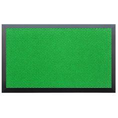 Momentum Mats Teton Green Entry Mat (Light Green .50 in. H x 120 in. W x 144 in. L), Black (Plastic)