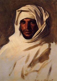 Bedouin Arab by John Singer Sargent