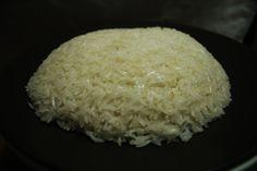 ¿Cómo hacer arroz al vapor?