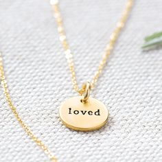 All Gifts - Loved Circle Necklace