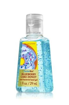 Blueberry Cake Donut Bath & Body Works PocketBac Sanitizing Hand Gel |