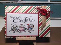 Stampin Up Merry Mice stamp set