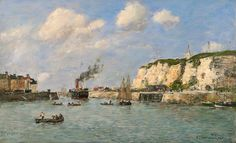 Eugene Louis Boudin - Impressions of the Sea