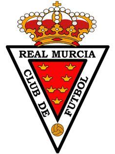 Real Murcia Murcia, Everton Fc, Football Soccer, Porsche Logo, Spanish, Logos, Badges, Sport, Vintage Postcards