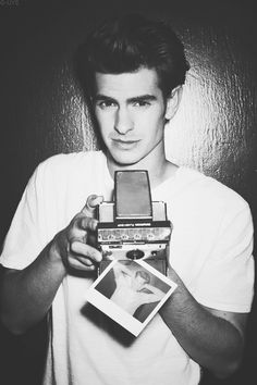 Andrew Garfield! Everyone needs a little spurred man in there lives!
