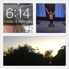 @heyemmaline Day 5- last day of #CrackOfArse! Early start with Jillian Michaels Yoga Meltdown while the sun rose outside