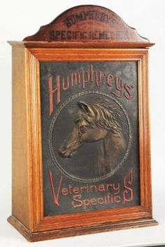 Humphrey's Veterinary Cabinet.