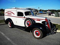 1936 Terraplane panel delivery truck...