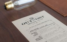 Creative Menus, Insp, Foundry, Www, and Cup image ideas & inspiration on Designspiration Print Layout, Layout Design, Print Design, Web Design, Restaurant Menu Design, Restaurant Branding, Restaurant Ideas, Cafe Restaurant, Typography Inspiration