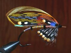 AuSable Witch full dress salmon fly