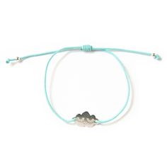 Image of NEW ! Bracelet Cloud en argent - Mint