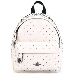 0396674bc63b Coach studded mini backpack ( 455) ❤ liked on Polyvore featuring bags
