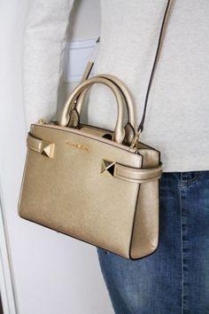 Wunderschöne goldene Michael Kors Tasche