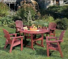 Resin Patio Furniture Sets Resin Poly Lumber Outdoor Patio Furniture  Baltimore Md Backyard