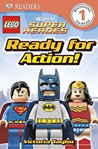 DK Readers: LEGO® DC Super Heroes: Ready for Action! Price:$3.59