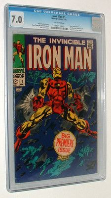 1968 MARVEL COMICS IRON MAN #1 CGC 7.0