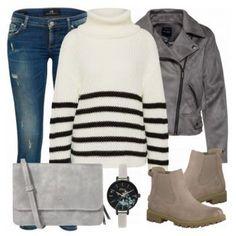 Aurora Damen Outfit - Komplettes Freizeit Outfit günstig kaufen    FrauenOutfits.de Günstig Kaufen, b62b8579c1