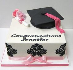Perfect for Graduation season!  Customize what you want the cake to say :)  #graduation #2012 #college