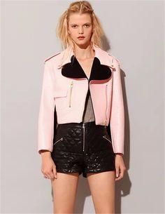 Alice Faux Leather Jacket-MalibuSky