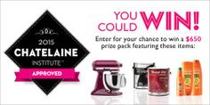 Enter to #win a KitchenAid Mixer plus other prizes totaling $650 ~ Canada (excluding Quebec) http://canadianbasics.com/kitchenaid-mixer-canada/