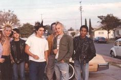 True Punkers of my SoCal high-school circa '80's gone on to either professional skateboard or ....