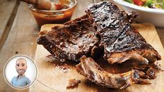Southwestern-style BBQ ribs from Stefano Faita Ribs Au Barbecue, Sauce Barbecue, Ribs On Grill, Beef Ribs, Bbq, Specialty Meats, Aged Beef, Chipotle Chili, Cuisine Diverse