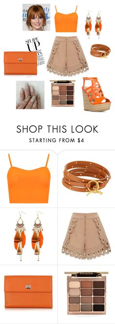 """""""New_post_37"""" by emra-cehajic ❤ liked on Polyvore featuring WearAll, Tory Burch, self-portrait, Pineider and Stila"""