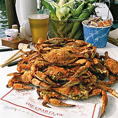 The Crab Claw in St. Michael's, MD - AWESOME crabs!!  I ♥ this place! :)