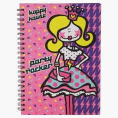 Party Rocker Little Princess Spiral Notebook House Illustration, Illustrations, Happy House, School Essentials, Baby Shop, Little Princess, Spiral, A4, Stationery